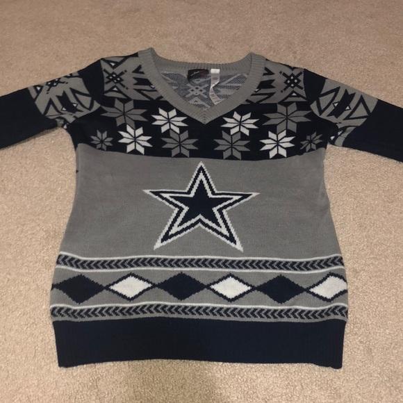 size 40 fea1c bbdd2 Dallas Cowboys ugly sweater